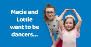 Foster carers needed for Macie and Lottie